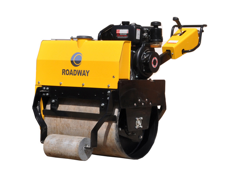 Walk-behind single drum road roller RWYL24C