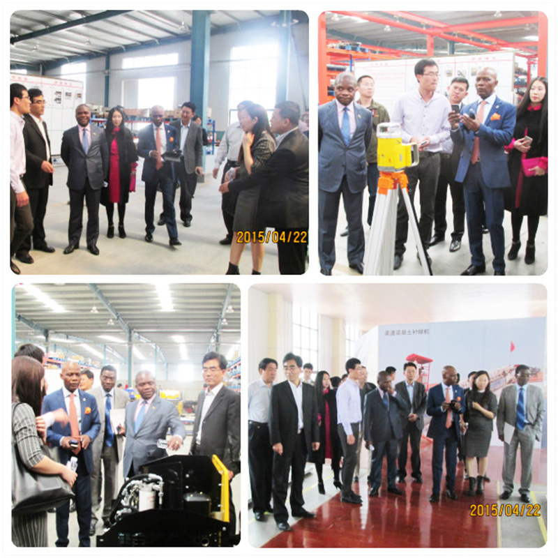 Mozambique, Zimbabwe ambassadors and leaders of high-tech zones visit the factory