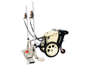 Concrete laser screed(walk-behind fully electric type) RWJP20